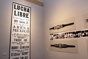 PRESENTACIÓN A LOS MEDIOS DE LA EXPOSICIÓN 75 ANIVERSARIO DEL CMLL/ KATHARSIS FOTOGRAFÍA DE LA LUCHA LIBRE 1940-2007, EN EL MUSEO DE LA CIUDAD DE MÉXICO